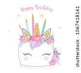 Happy Birthday Unicorn Cake...