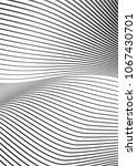 white black color. linear... | Shutterstock .eps vector #1067430701