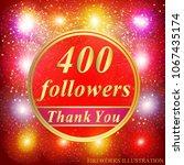 bright followers background.... | Shutterstock .eps vector #1067435174
