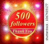 bright followers background.... | Shutterstock . vector #1067435177