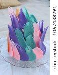 paint stroke representation on... | Shutterstock . vector #1067438291