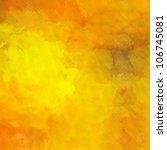 art abstract monochrome gold... | Shutterstock . vector #106745081