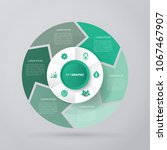 vector circle for infographic...   Shutterstock .eps vector #1067467907