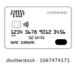 vector icon of contactless... | Shutterstock .eps vector #1067474171