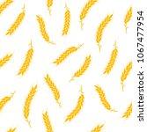 seamless pattern. simple vector ... | Shutterstock .eps vector #1067477954