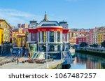 ribera market in the spanish...   Shutterstock . vector #1067487257