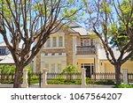 typical australian family house ... | Shutterstock . vector #1067564207