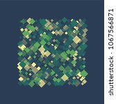 rhombus retro minimal geometric ... | Shutterstock .eps vector #1067566871