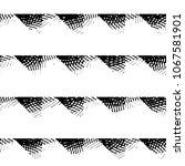 black and white grunge stripe... | Shutterstock . vector #1067581901