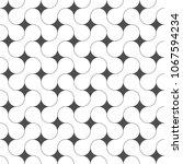 seamless pattern. unusual... | Shutterstock .eps vector #1067594234