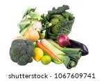 fresh and colorful vegetables...   Shutterstock . vector #1067609741