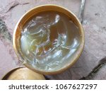 Small photo of Grease or semisolid lubricant in a plastic container, consists of a soap emulsified with mineral or vegetable oil, a high initial viscosity, also act as sealants to prevent ingress of water