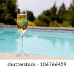 Elegant Flute Glass Of...