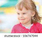 portrait of little girl | Shutterstock . vector #106767044