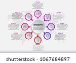 presentation business... | Shutterstock .eps vector #1067684897