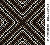 striped greek key meander... | Shutterstock .eps vector #1067685485