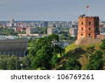 Tower Of Gediminas  Vilnius ...