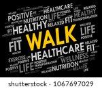 walk word cloud  fitness  sport ...   Shutterstock .eps vector #1067697029