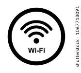 internet wireless signal icon...   Shutterstock .eps vector #1067713091