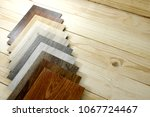 wood texture floor samples of... | Shutterstock . vector #1067724467