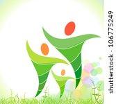 bio green family   Shutterstock .eps vector #106775249