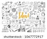 management infographic concept...   Shutterstock .eps vector #1067772917