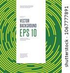 abstract minimal vector... | Shutterstock .eps vector #1067777891