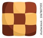 tasty biscuit icon. flat... | Shutterstock .eps vector #1067807555