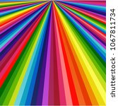 Rainbow Lines Colorful...