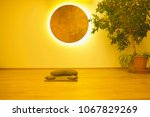 cushions for yoga and...   Shutterstock . vector #1067829269