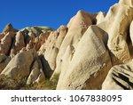 cappadocia landscape in red... | Shutterstock . vector #1067838095