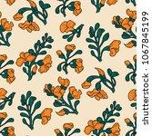 padauk flower  pterocarpus...   Shutterstock .eps vector #1067845199