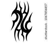 tattoos ideas designs   tribal... | Shutterstock .eps vector #1067856857