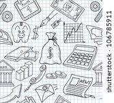 vector illustration of seamless ... | Shutterstock .eps vector #106785911