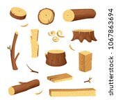 materials for wood industry.... | Shutterstock . vector #1067863694