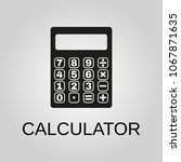 calculator icon. calculator...