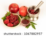 pomegranate fruits have... | Shutterstock . vector #1067882957
