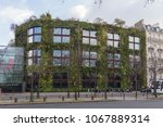 paris  france   dec 8  2012  ... | Shutterstock . vector #1067889314