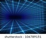 abstract digital tunnel | Shutterstock . vector #106789151