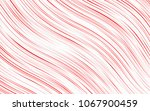 light red vector template with... | Shutterstock .eps vector #1067900459