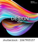 abstract vector background.... | Shutterstock .eps vector #1067905157
