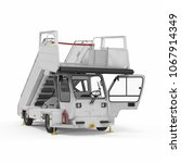 passenger boarding stairs car... | Shutterstock . vector #1067914349