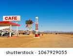 amboy  california  usa  ... | Shutterstock . vector #1067929055