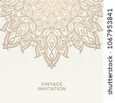 save the date invitation card... | Shutterstock .eps vector #1067953841