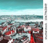 panoramic views of the...   Shutterstock . vector #1067963849