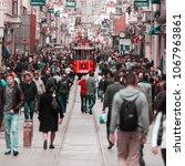 istanbul  turkey   april 07 ...   Shutterstock . vector #1067963861