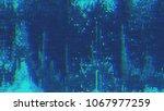 unique design abstract digital... | Shutterstock . vector #1067977259