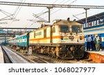 delhi  india   february 17 ... | Shutterstock . vector #1068027977