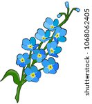 vector illustration of forget... | Shutterstock .eps vector #1068062405
