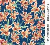seamless pattern of...   Shutterstock . vector #1068062441